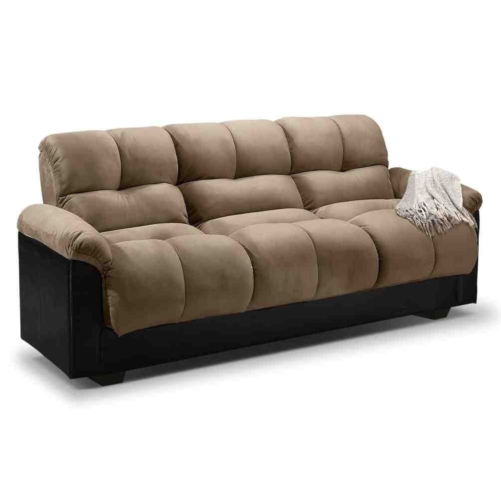 Leather Futon Sofa Bed Home Furniture Design