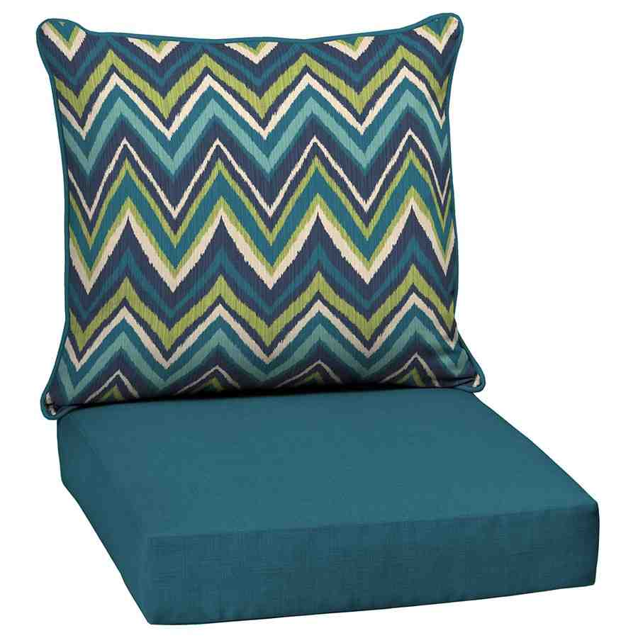 Chair cushions lowes furniture lowes high back outdoor for Garden furniture cushions