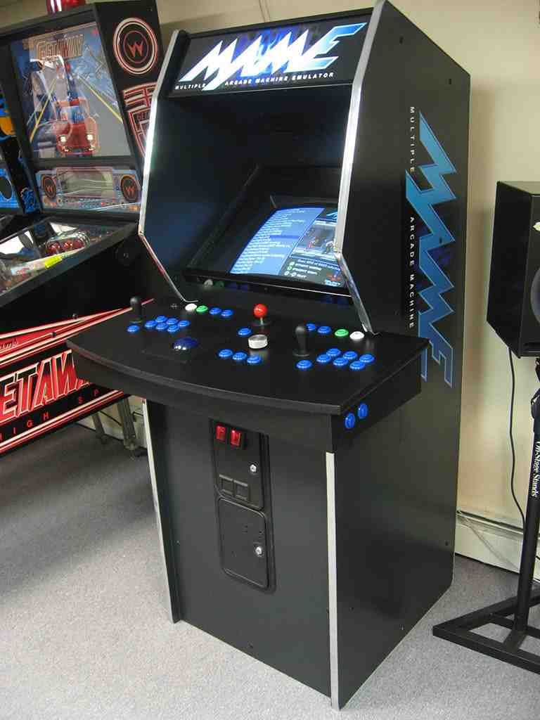 mame arcade cabinet home furniture design. Black Bedroom Furniture Sets. Home Design Ideas