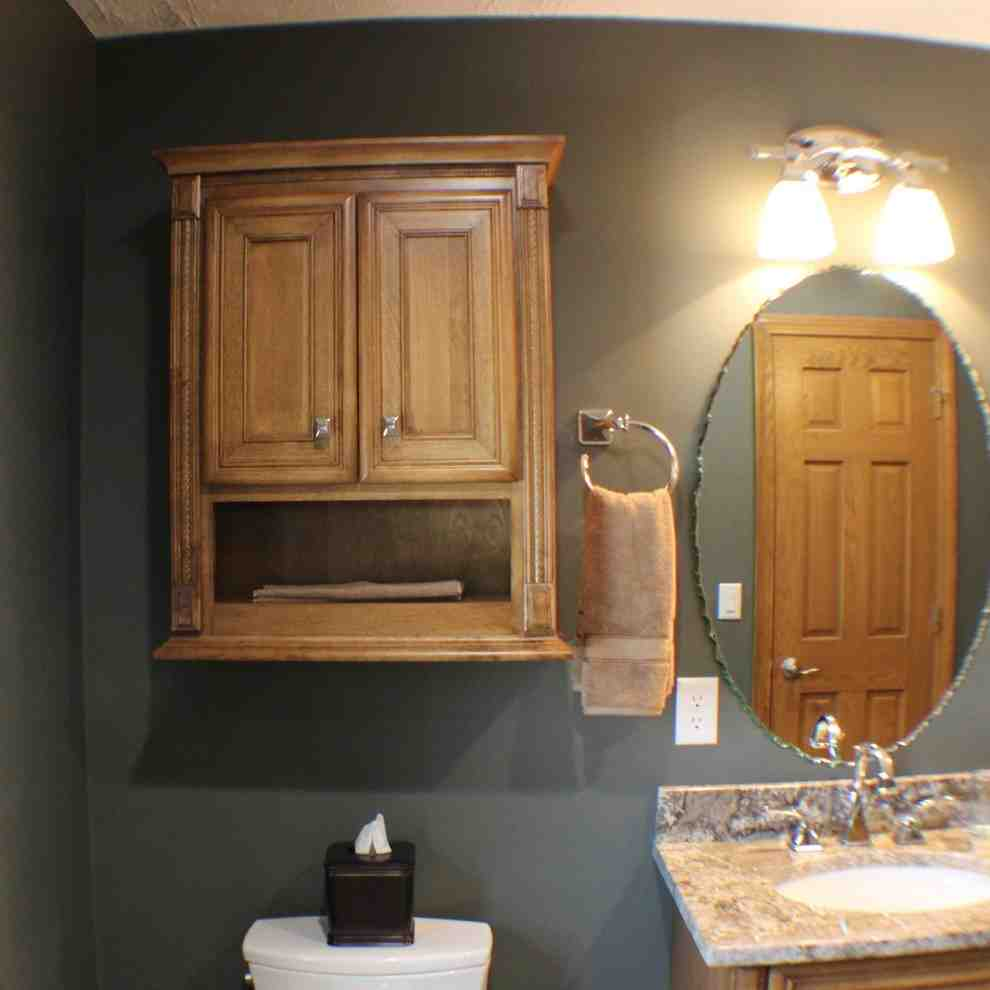 Maple bathroom wall cabinet home furniture design for Maple cabinets