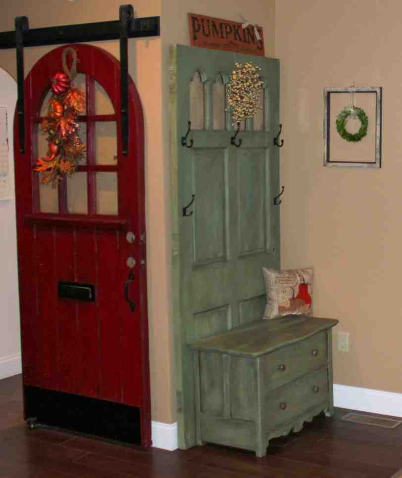 Mini Hall Tree with Storage Bench - Home Furniture Design