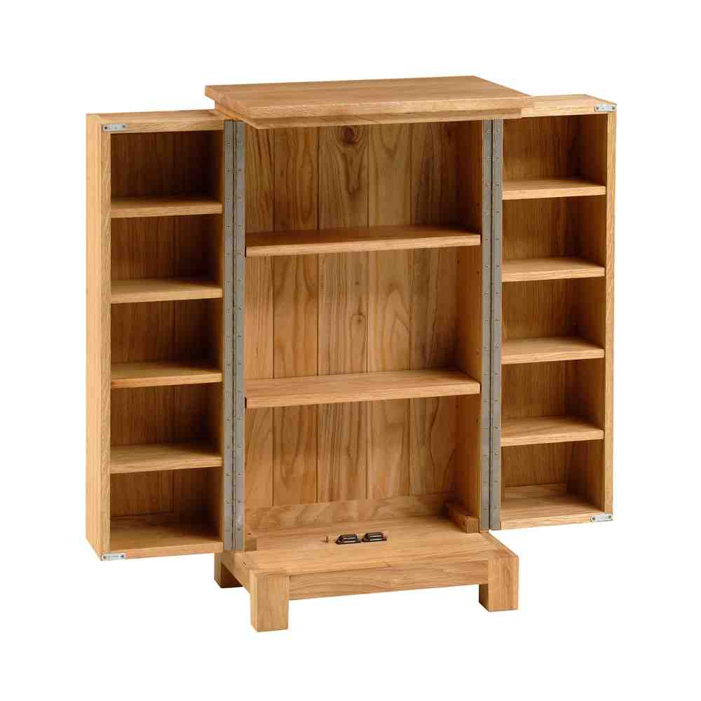 Dvd Storage Cabinet ~ Oak dvd storage cabinet home furniture design