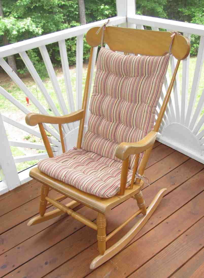 the terrific photograph is segment of rocking chair cushions how to