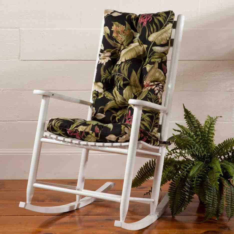 the captivating photo is segment of rocking chair cushions how to