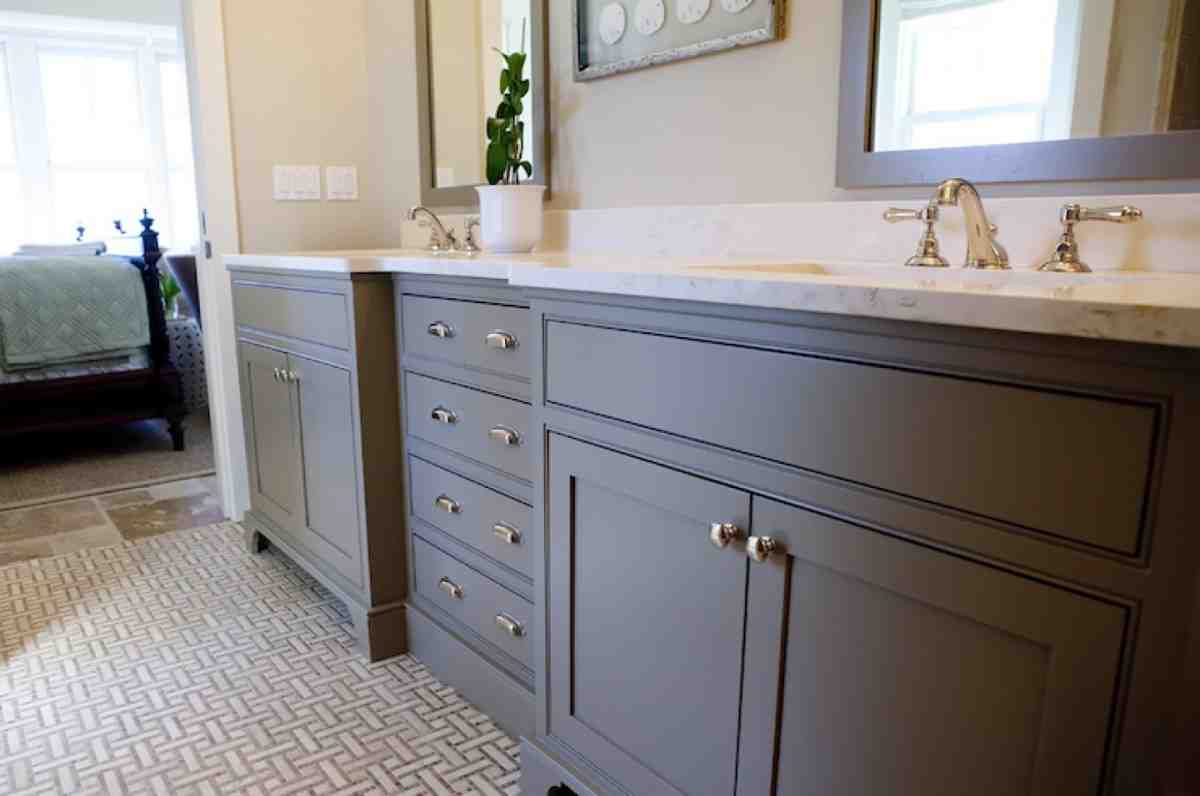Painting Bathroom Cabinets Color Ideas - Home Furniture Design