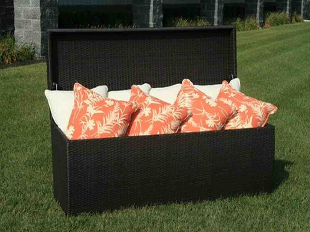 Patio Cushion Storage Bench Home Furniture Design