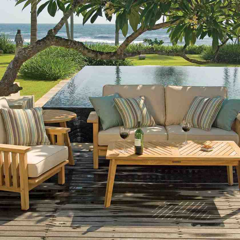 Replacement cushion covers for outdoor furniture home for Covered deck furniture