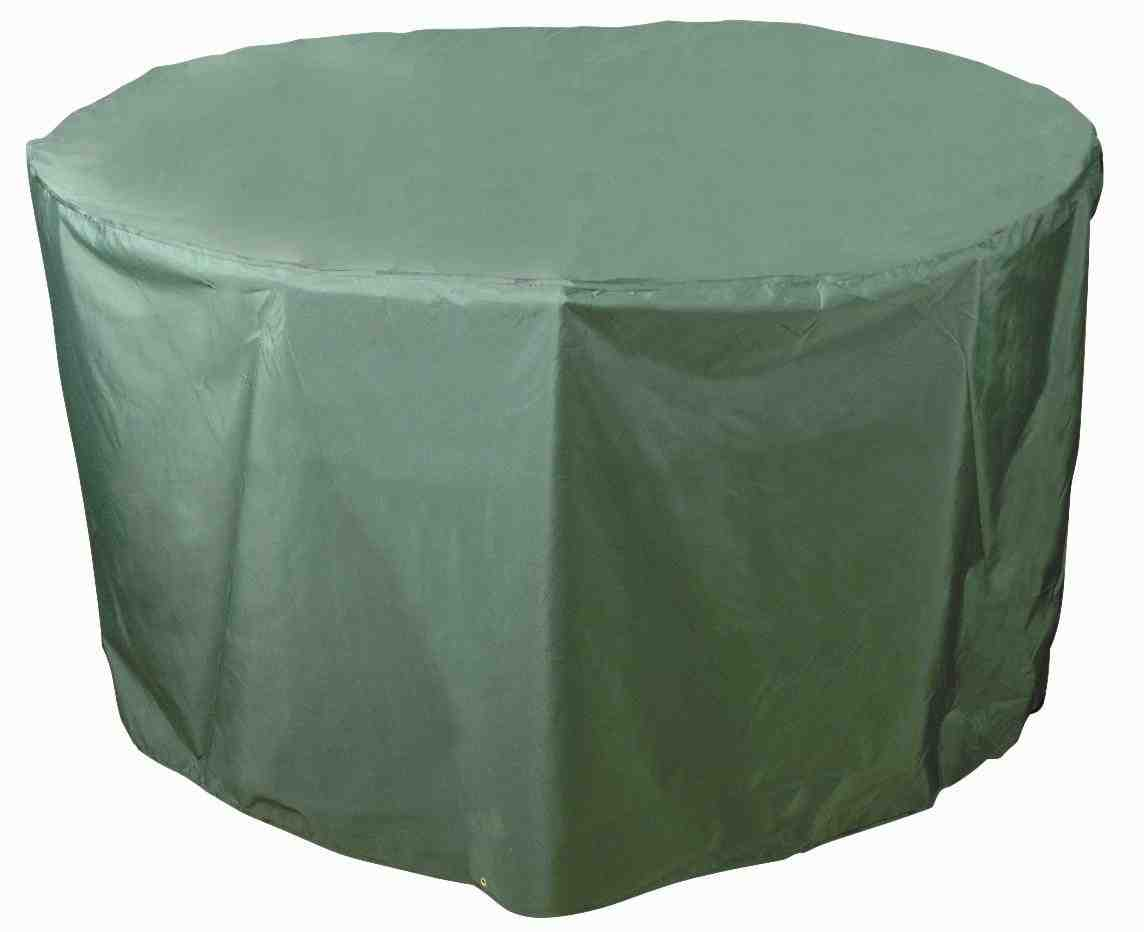 Round patio table covers home furniture design for Outdoor furniture covers