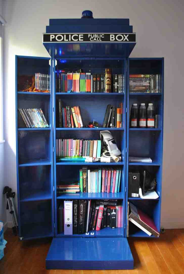 Tardis Dvd Cabinet Home Furniture Design