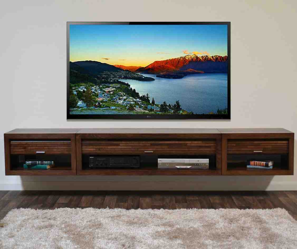 Wall Mounted Entertainment Cabinet Home Furniture Design