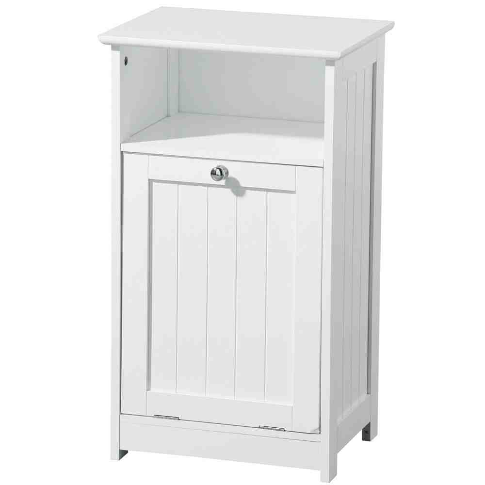 White bathroom floor cabinet home furniture design for Bathroom storage cabinets floor