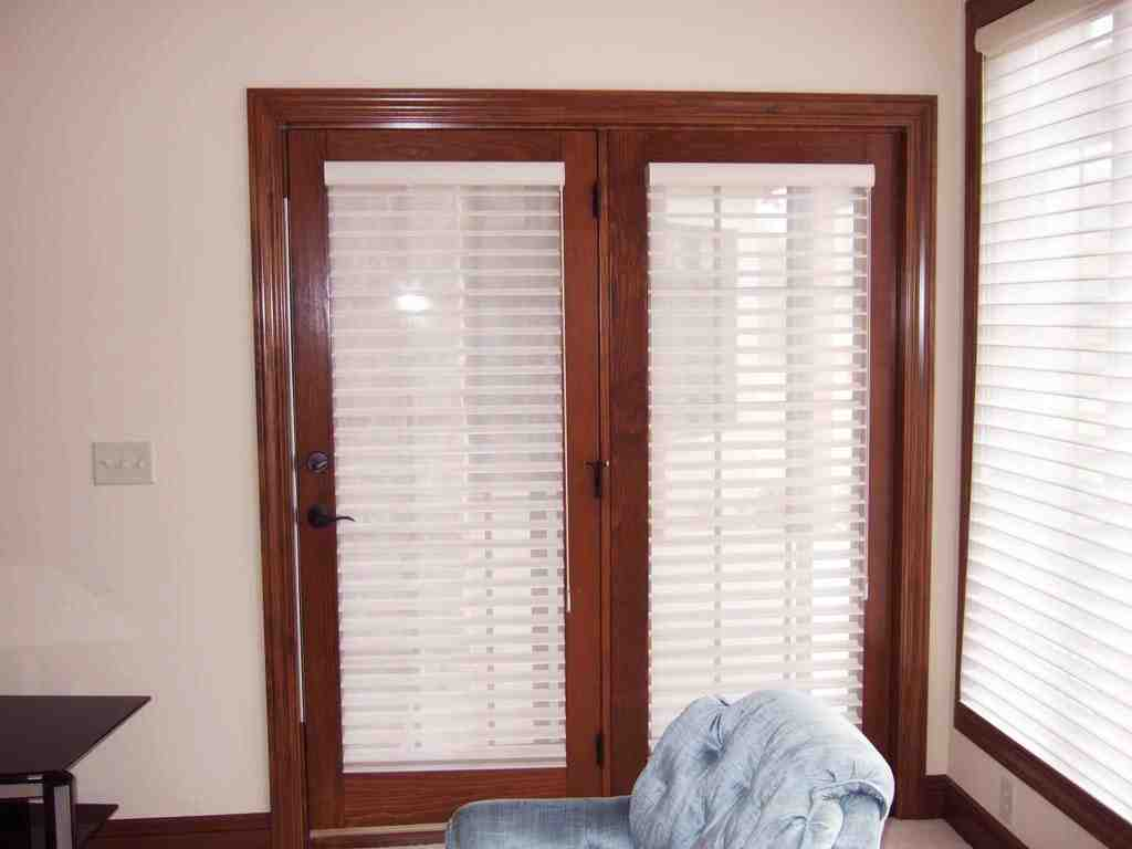 Window coverings for french patio doors home furniture for Best french patio doors