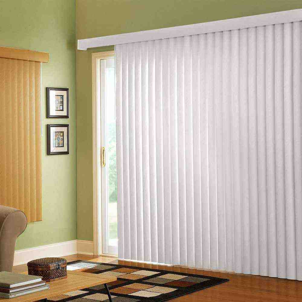 Window coverings for sliding patio doors home furniture for Window cover for home