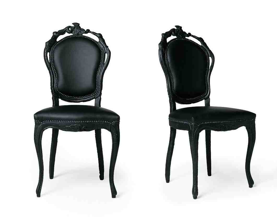 black dining chairs guide from country to elegance home furniture design. Black Bedroom Furniture Sets. Home Design Ideas