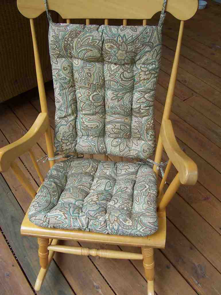 18421 besides Little Cottage  pany Classic Adirondack Rocker Chair LCC1116 also Rocking Chair Cushions together with Collier De Plomberie as well Clingo Cushions 15 Inches Round Indooroutdoor Seat Pad With Neodymium Mag s Red For Bistro Chairs. on outdoor rocking chair pads