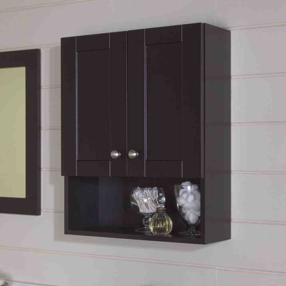 Espresso medicine cabinet home furniture design for Espresso bathroom medicine cabinet