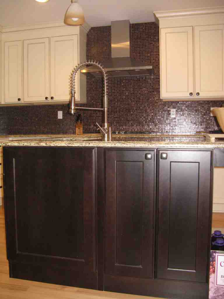 Espresso Stained Cabinets Home Furniture Design
