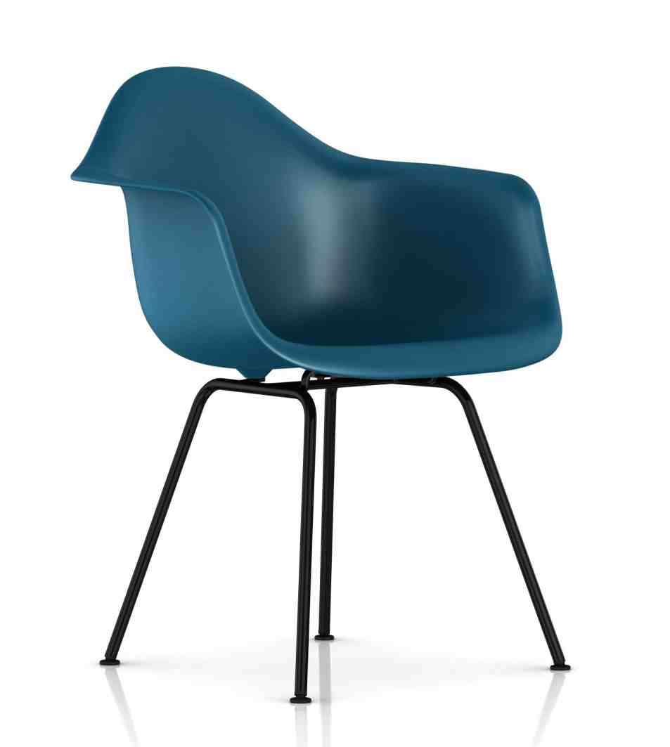 Herman Miller Eames Molded Plastic Chair Home Furniture
