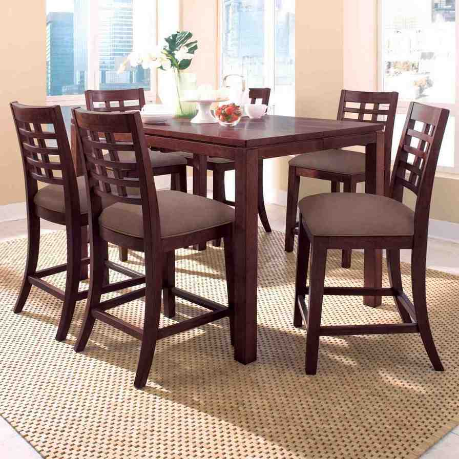 High top dining set and chairs home furniture design for Best dining sets