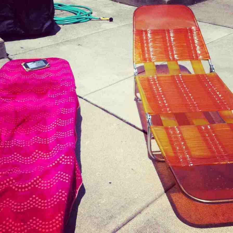 Plastic Folding Lounge Chair Home Furniture Design