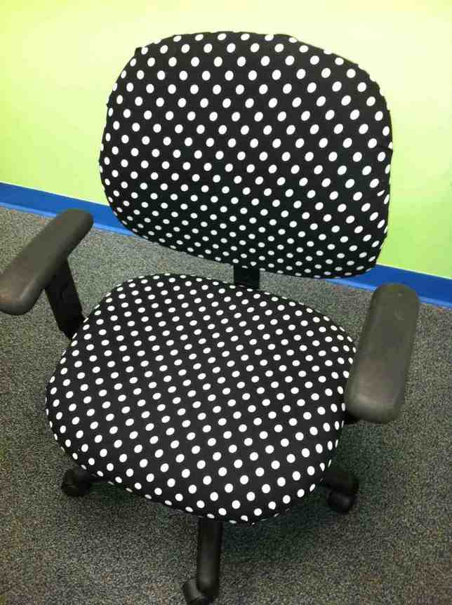 Polka Dot Desk Chair Home Furniture Design