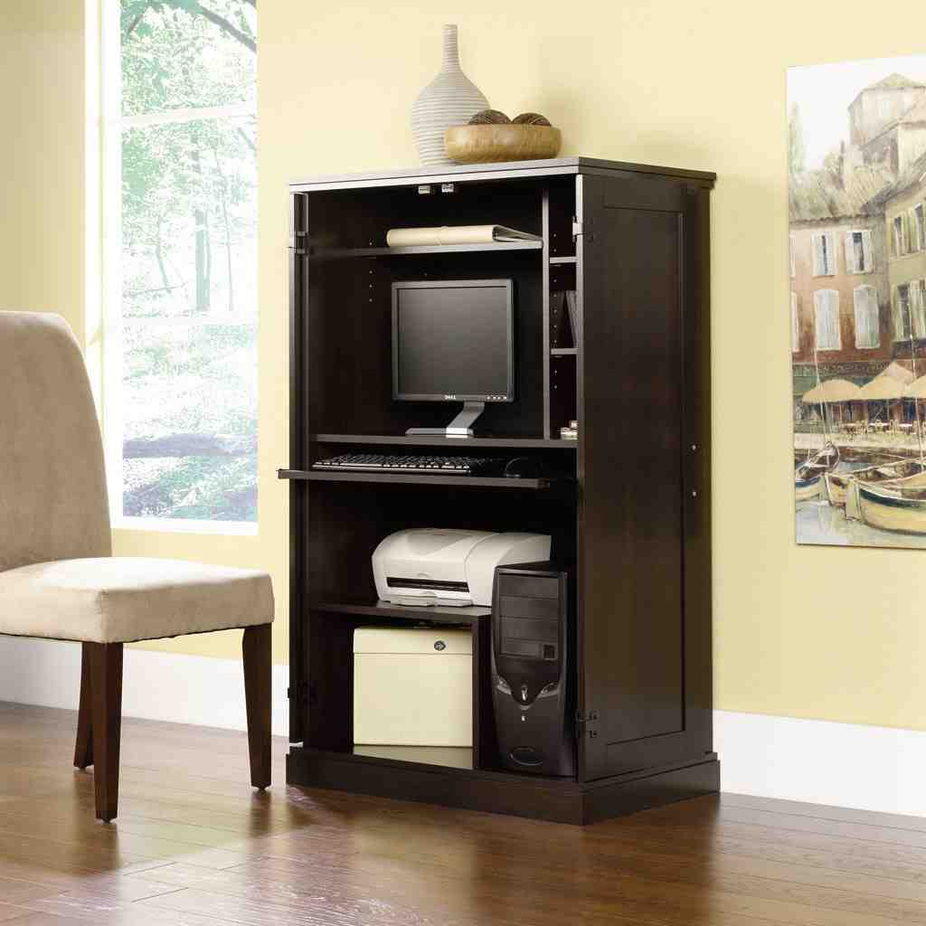 Sauder Armoire Desk Home Furniture Design