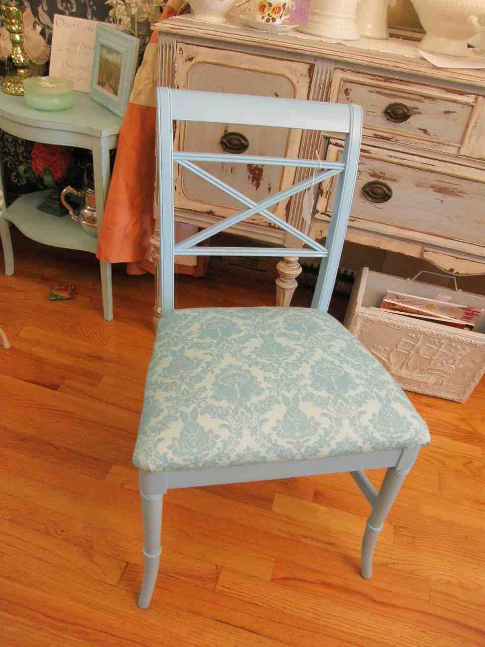 Shabby Chic Desk Chair - Home Furniture Design