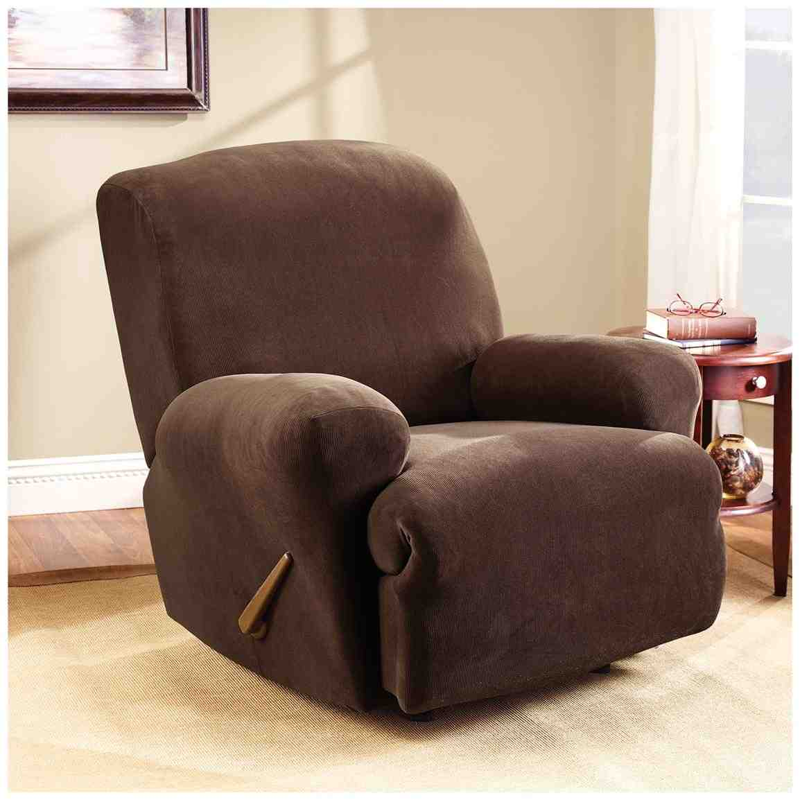 Sure fit recliner cover home furniture design for At home designs recliner