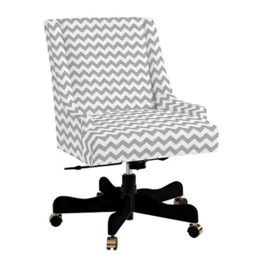 Upholstered Swivel Desk Chair Nash Upholstered Swivel