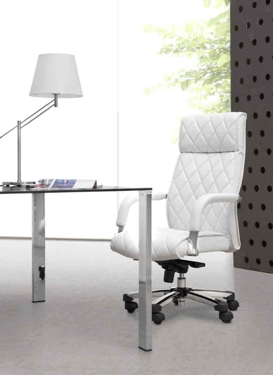 White Chair For Desk Home Furniture Design