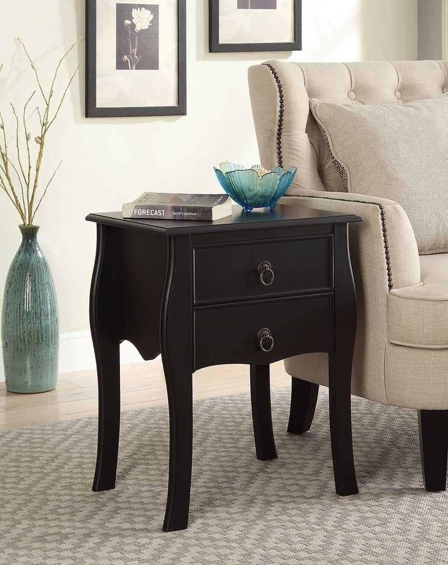 2 Drawer End Table Home Furniture Design