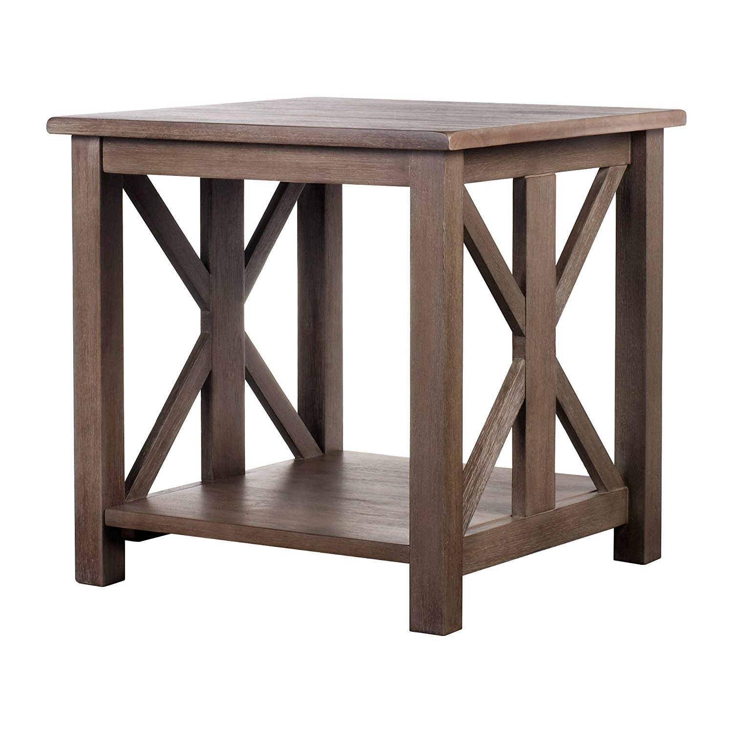 farmhouse end table home furniture design