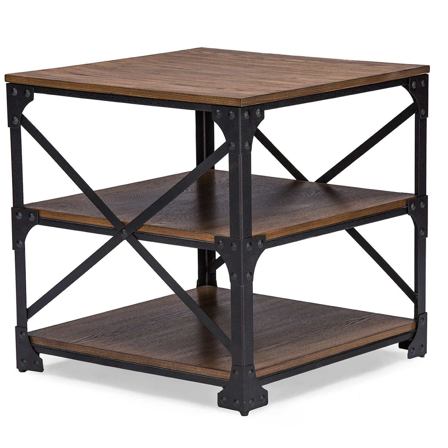 Industrial end table home furniture design for Table th right