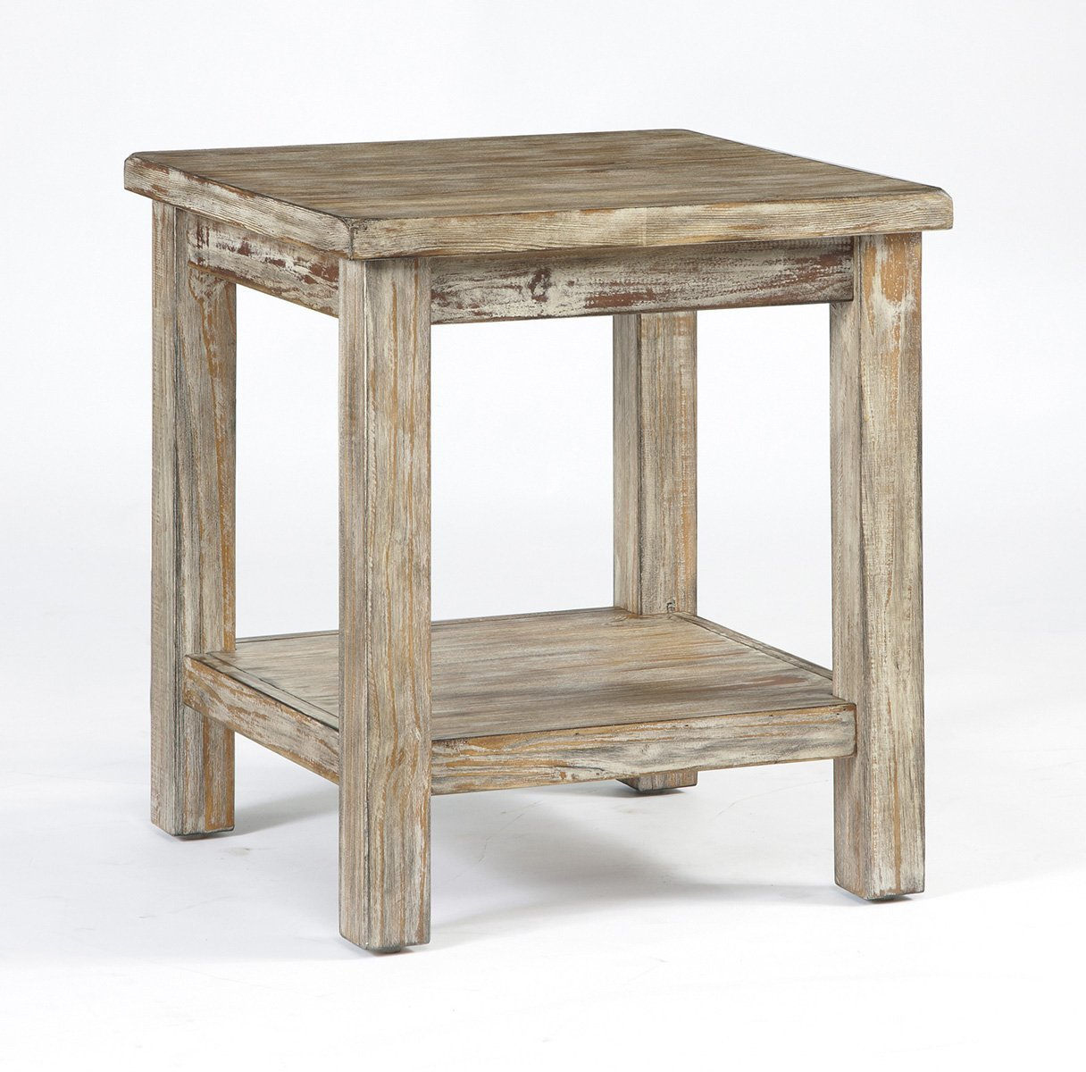 Rustic end table home furniture design for Modern end table ideas
