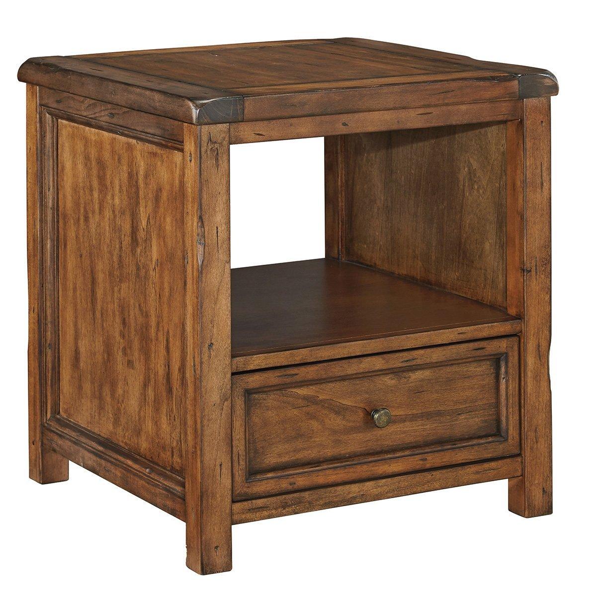 Square End Table Tamonie Medium Home Furniture Design