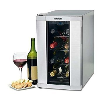 Cuisinart 8 bottle wine cooler home furniture design for Modern homes 8 bottle wine cooler