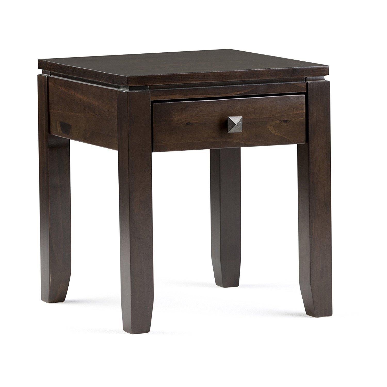 Floating end table home furniture design for Floating side table diy