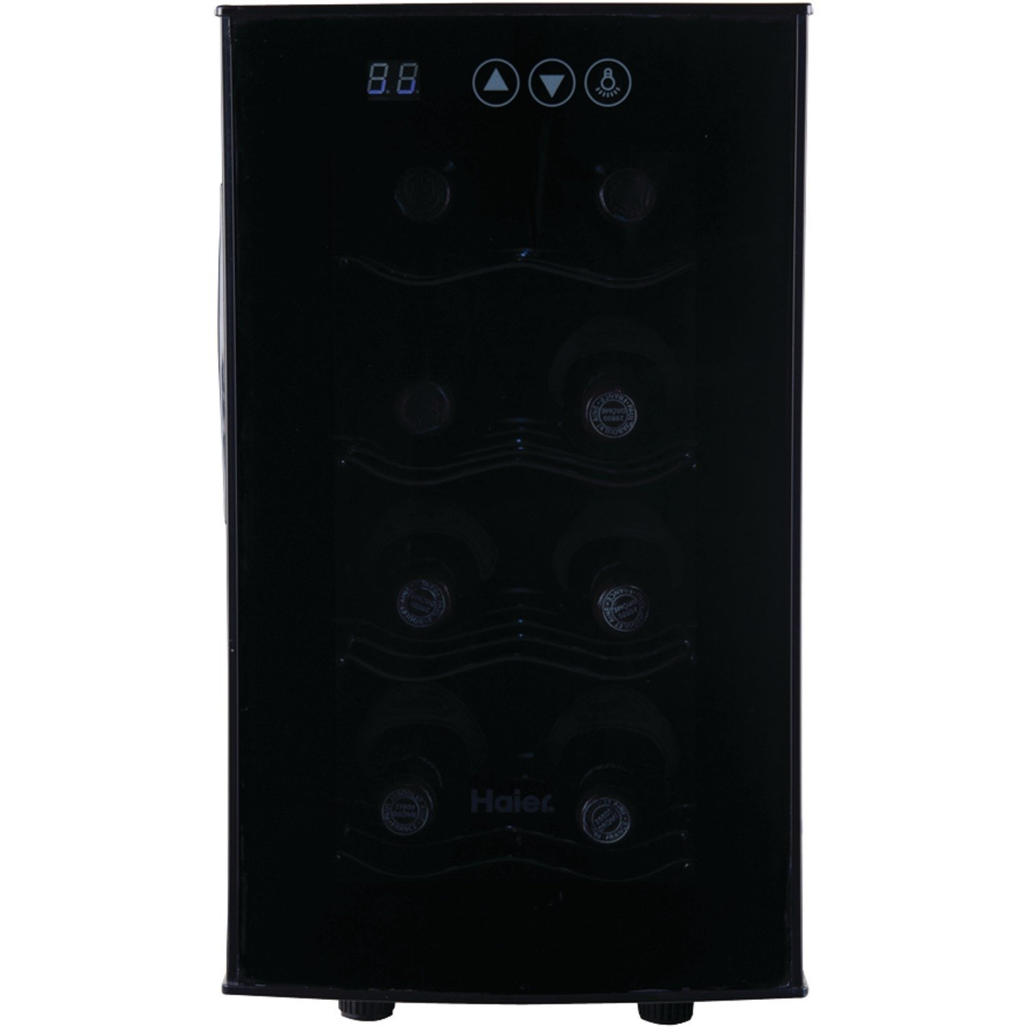 Haier 8 bottle wine cooler home furniture design for Modern homes 8 bottle wine cooler