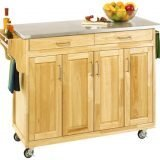 Collapsible utility cart home furniture design Home styles natural designer utility cart