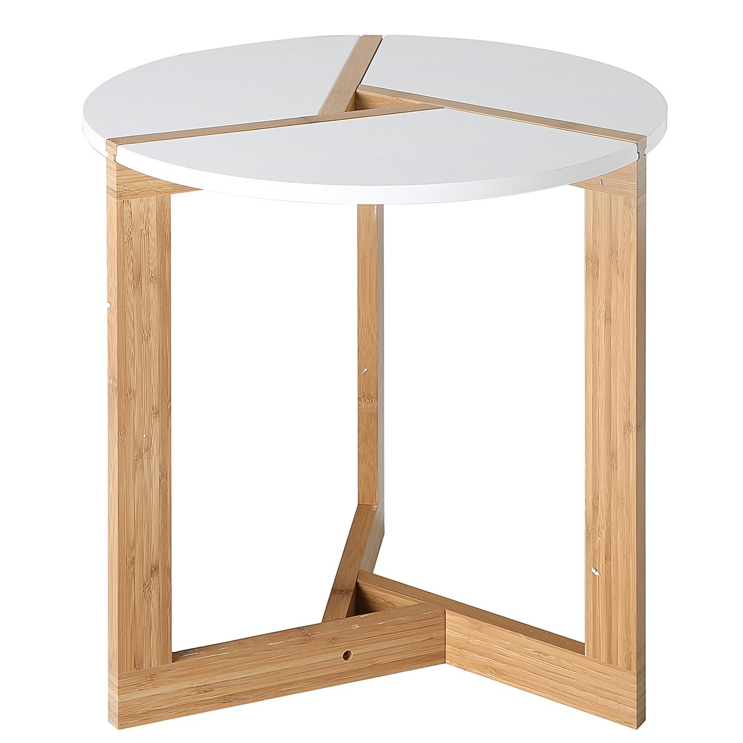 Modern round end table home furniture design for Modern end table ideas
