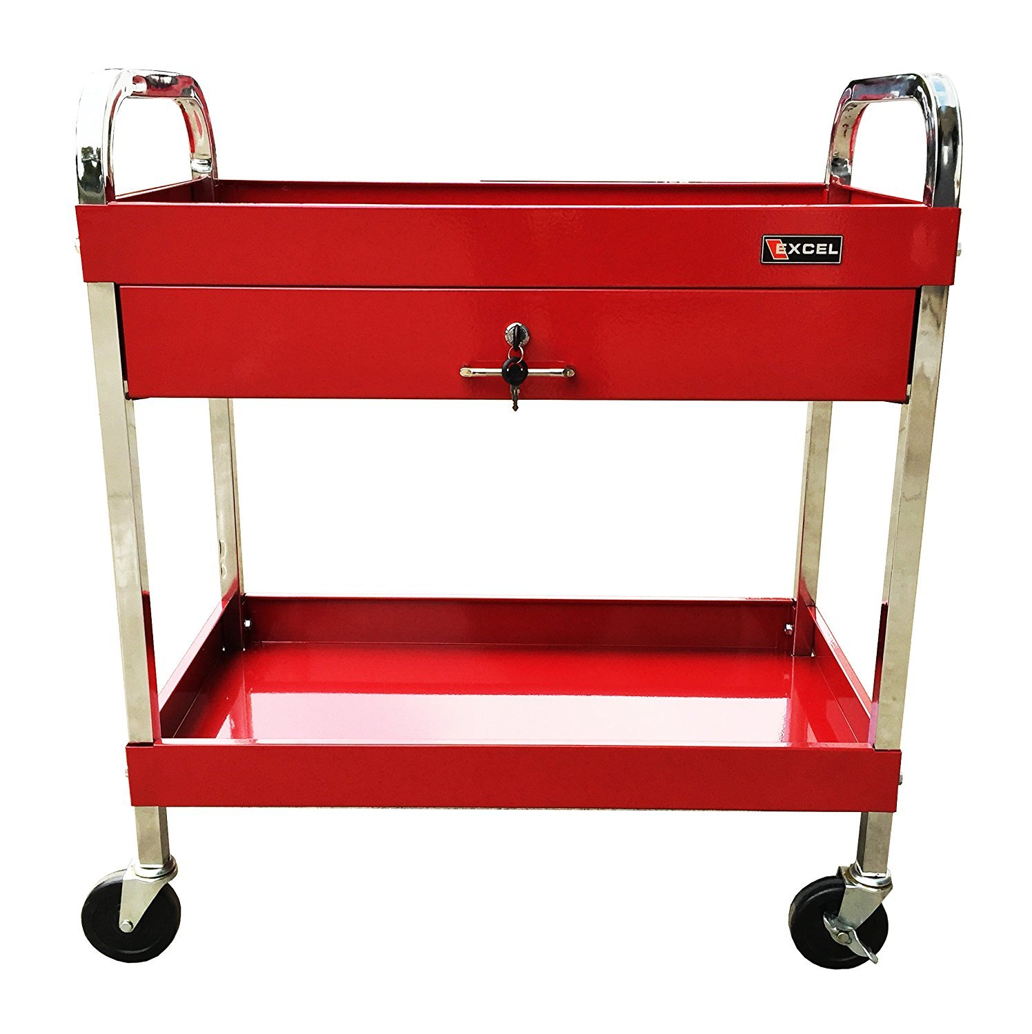 Red Utility Cart Home Furniture Design
