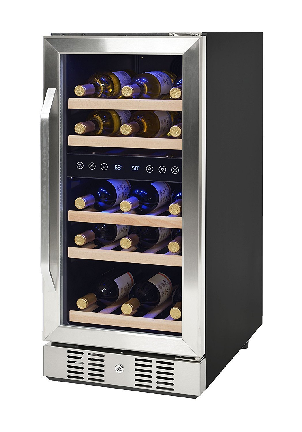 Refrigerator With Built In Wine Cooler Home Furniture Design