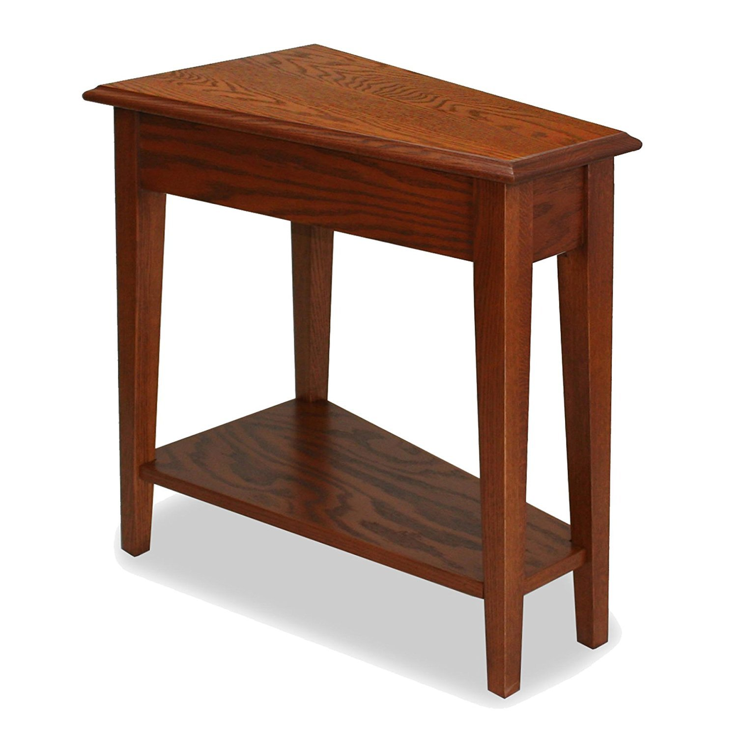 Wedge End Table Home Furniture Design