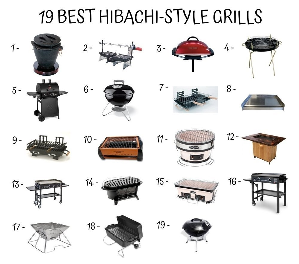 19 Best Hibachi Style Grill Home Furniture Design
