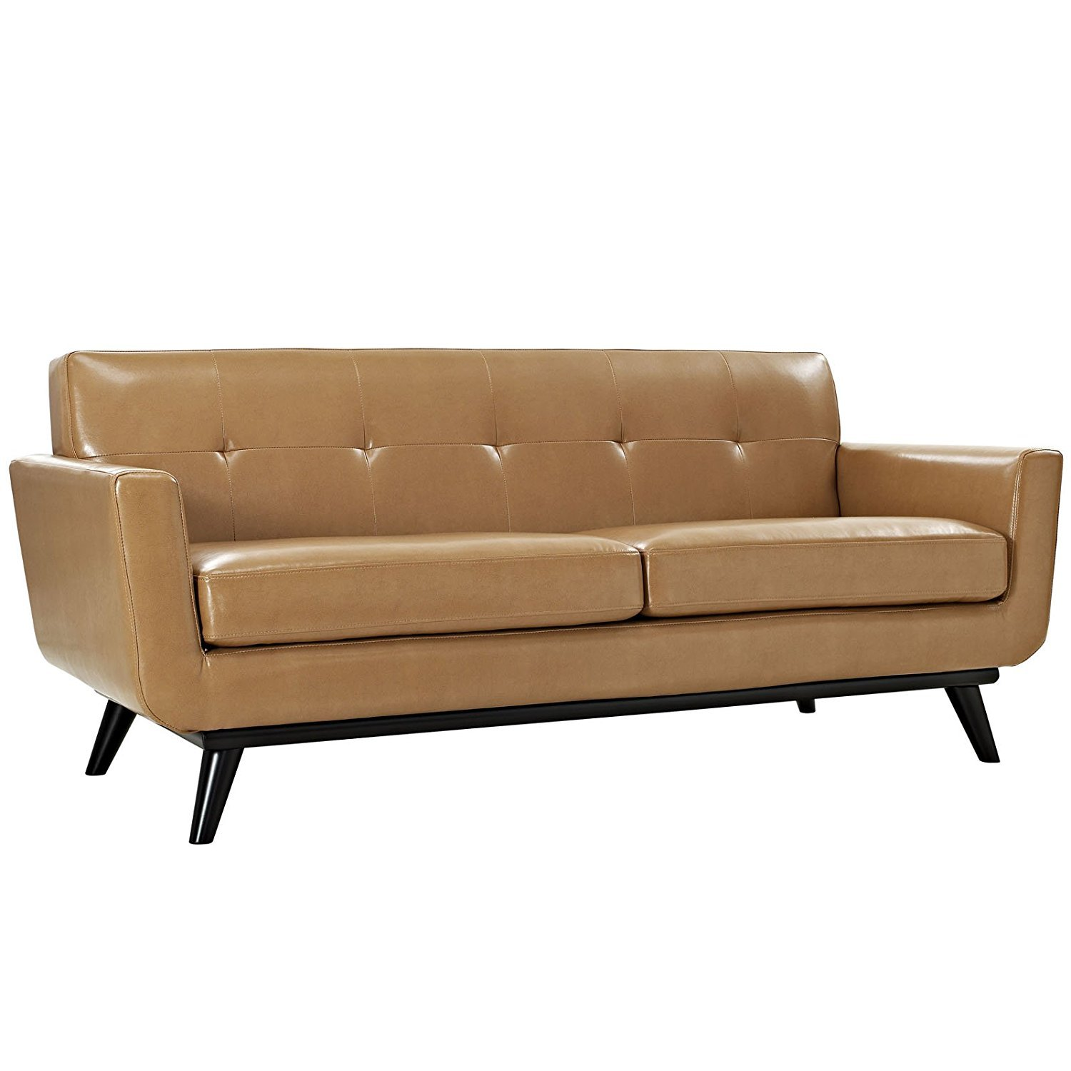 Light Brown Leather Couch Home Furniture Design