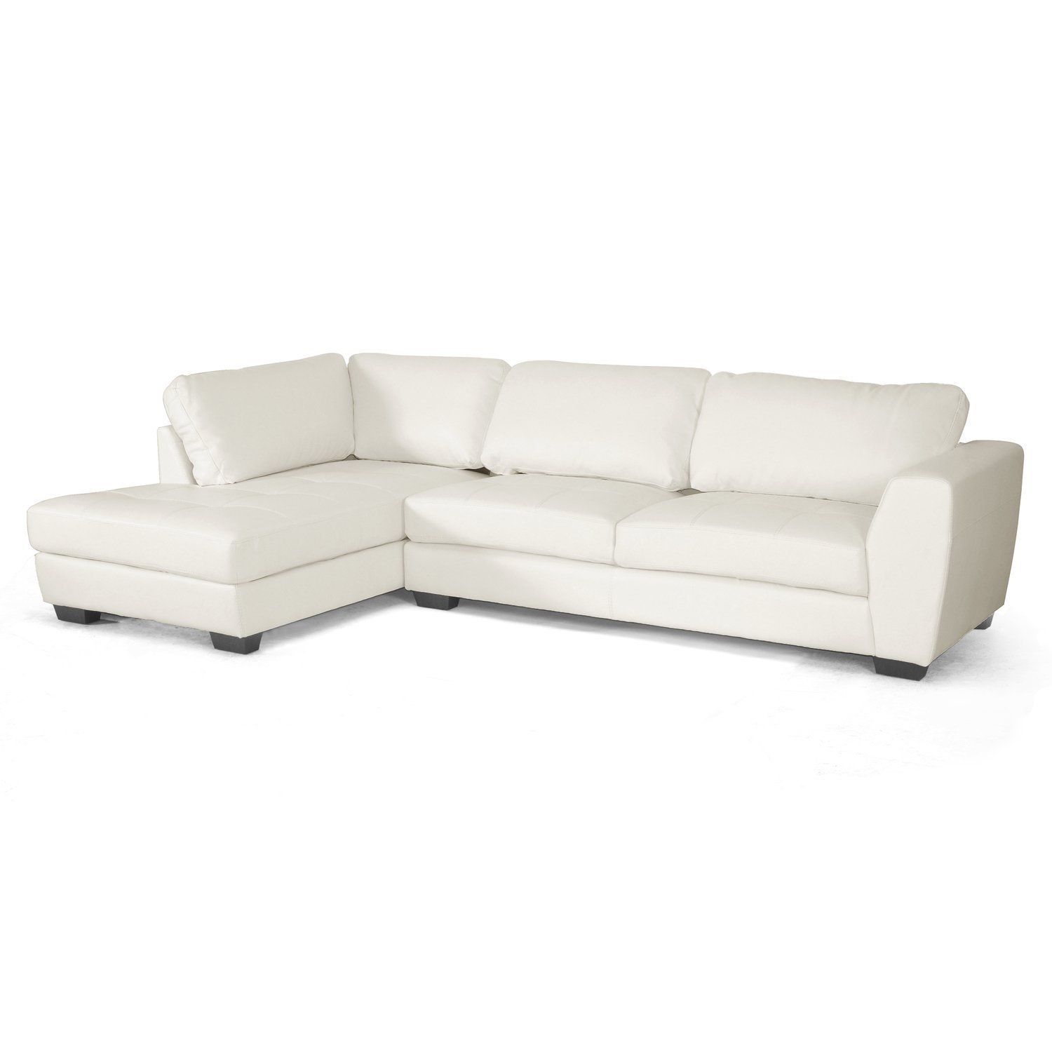 white sectional sofa with chaise home furniture design. Black Bedroom Furniture Sets. Home Design Ideas