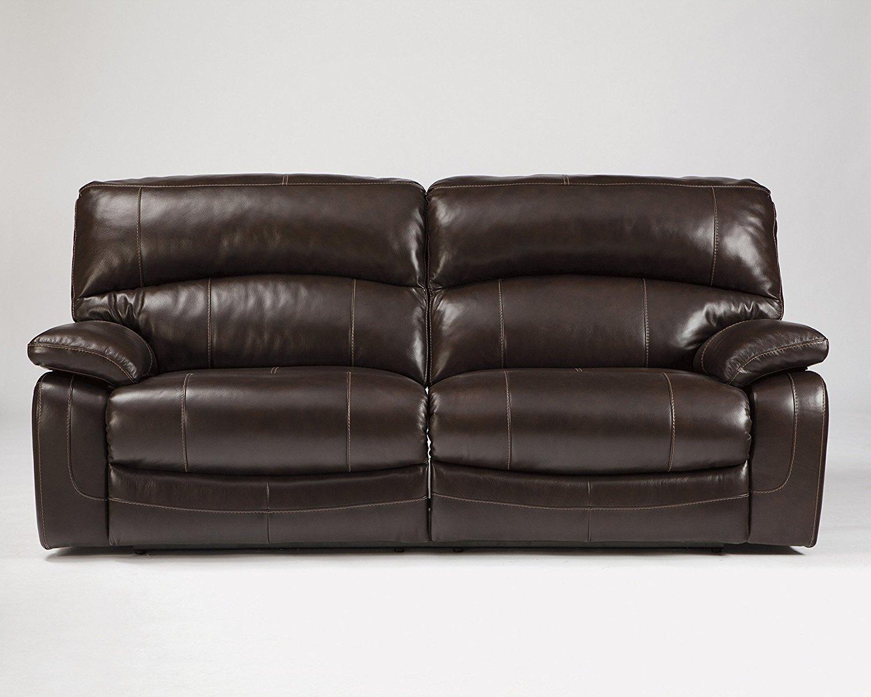 Ashley furniture signature design damacio recliner sofa for At home designs recliner