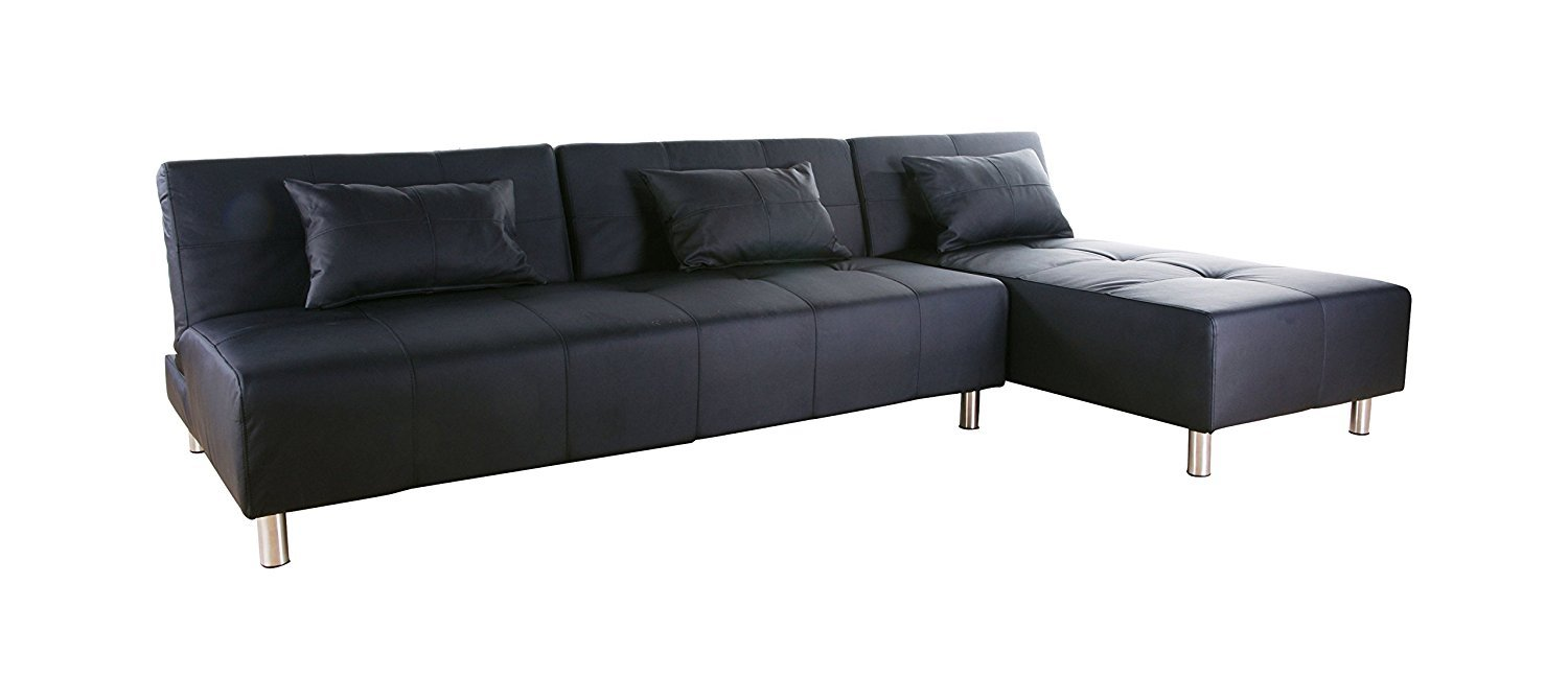 Gold sparrow atlanta convertible sectional sofa bed home for Sectional sofa that converts to bed
