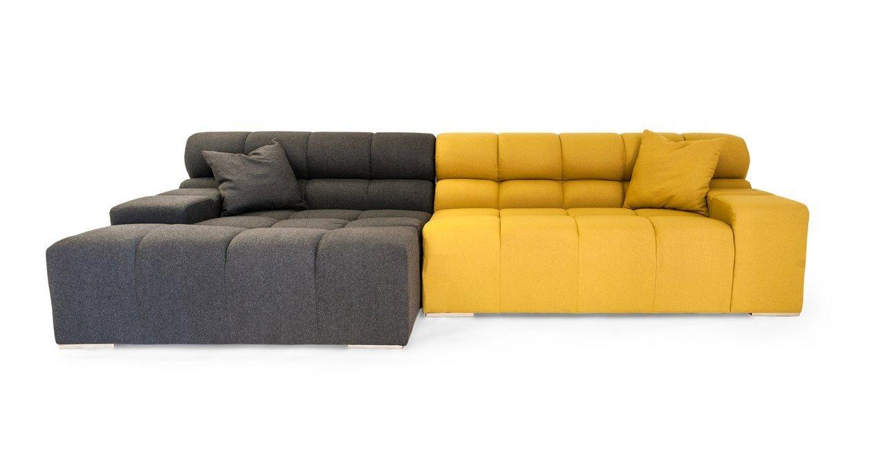Kardiel Cubix Modern Modular Left Sectional Sofa Home
