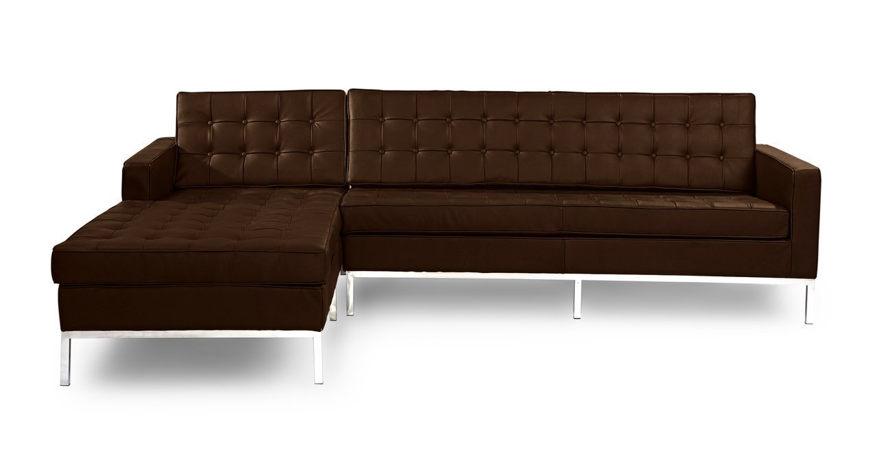 Kardiel florence knoll style left sectional sofa home for Better by design couch